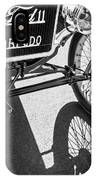 1911 Ford Model T Torpedo Grille Emblem IPhone Case