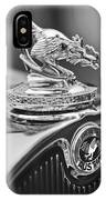 1931 American Austin Roadster Hood Ornament IPhone Case