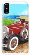 Rolls Royce Henley Roadster IPhone Case