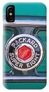 1934 Packard Super 8 Emblem IPhone Case