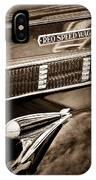 1935 Reo Speed Wagon 6ap Pickup Emblem IPhone Case