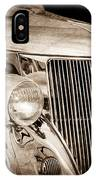 1936 Ford - Stainless Steel Body IPhone Case