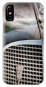 1937 Cadillac Hood Ornament And Grille Emblem IPhone Case