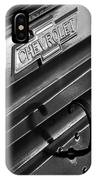 1937 Chevrolet Custom Pickup Emblem IPhone Case