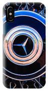 1939 Mercedes-benz 540k Special Roadster Wheel Rim Emblem IPhone Case