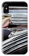 1939 Pontiac Silver Streak Chief Hood Ornament IPhone Case