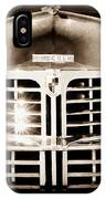 1948 Lincoln Continental Grille Emblem IPhone Case