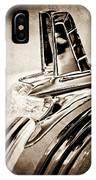 1953 Pontiac Hood Ornament IPhone Case