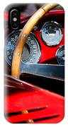 1954 Ferrari 500 Mondial Spyder Steering Wheel Emblem IPhone Case