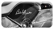 1955 Chevrolet Belair Dashboard Emblem Clock IPhone Case