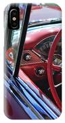 1955 Chevrolet Belair Steering Wheel IPhone Case