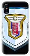 1955 Mercury Montclair Convertible Emblem IPhone Case