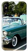 1957 Chevy Bel Air Green IPhone Case