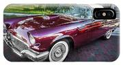 1957 Ford Thunderbird Convertible Painted    IPhone Case