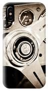 1960 Maserati Steering Wheel Emblem IPhone Case