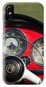 1961 Alfa-romeo Giulietta Spider Steering Wheel Emblem IPhone Case