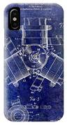 1961 Propeller Patent Drawing IPhone Case