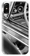 1962 Dodge Polara 500 Side Emblem - Steering Wheel IPhone Case