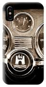 1966 Volkswagen Vw Karmann Ghia Steering Wheel IPhone Case