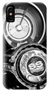1967 Chevrolet Camaro  Ss Steering Wheel Emblem Emblem IPhone Case