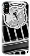 1967 Fiat Abarth 1000 Otr Emblem IPhone Case