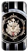 1969 Morgan Roadster Grille Emblem IPhone Case