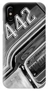 1971 Oldsmobile 442 Taillight Emblem IPhone Case