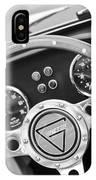 1972 Ginetta Steering Wheel Emblem IPhone Case