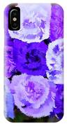 A Bouquet For You Blue IPhone Case