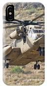 A Ch-53 Yasur 2000 Of The Israeli Air IPhone Case
