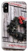 A Country Christmas IPhone Case