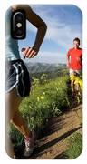 A Couple Trail Running IPhone Case