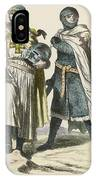 A Grand Master Of The Teutonic  Knights IPhone Case