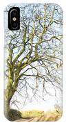 Tall Tree Shadows IPhone Case