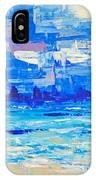 Abstract Beach IPhone Case