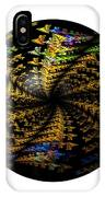 Abstract Globe IPhone Case