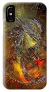 Abstraction 0601 - Marucii IPhone Case