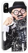 Accountant Crying Number Tears IPhone Case