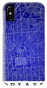 Adelaide Street Map - Adelaide Australia Road Map Art On Colored IPhone Case