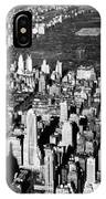 Aerial View Of Central Park IPhone Case