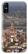Aerial View Of San Miguel De Allende IPhone Case