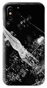 Aerialist Catwalk Circus Aberdeen South Dakota 1965 IPhone Case