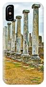 Agora In Perge Where Apostle Paul Preached His First Sermon-turkey  IPhone Case