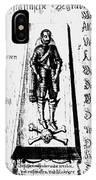 Albrecht Von Wallenstein (1583-1634) IPhone Case