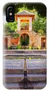 Alhambra In Granada IPhone Case