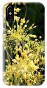 Allium Flavum Or Fireworks Allium IPhone Case