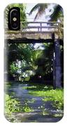 An Old Stone Bridge Over A Canal IPhone Case
