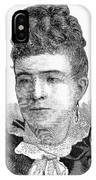 Ann Eliza Young (1844-1925) IPhone Case