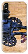 Antique Cast Iron Toy IPhone Case