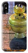 Antique Kerosene Lamps IPhone Case